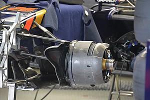 Technique - Les écopes de freins avant de la Toro Rosso