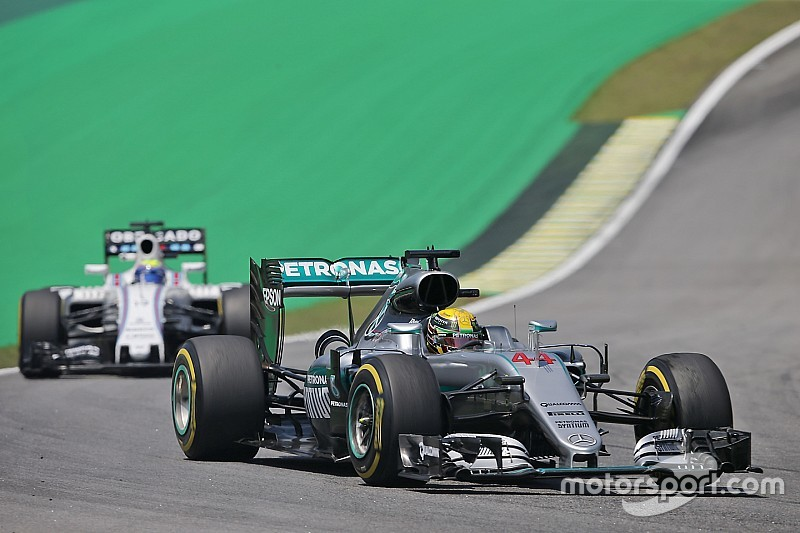 【F1ブラジルGP】FP2:ハミルトン、僅差でロズベルグを抑えトップ。ウイリアムズ好調