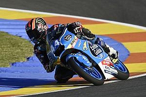 Moto3 Qualifiche Aron Canet conquista la sua prima pole position a Valencia