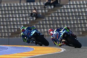 "MotoGP 速報ニュース 【MotoGP】ふたりのライダーが語るスズキへの愛着。エスパルガロ「飼い犬の名前も""スズキ""」"