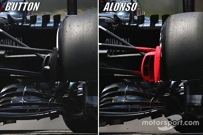 【F1ブラジルGP】技術分析:マクラーレン、2017年に向けた実験を続ける