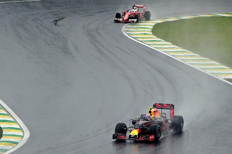 【F1ブラジルGP】フェルスタッペン「ベッテルからメッセージが来た」