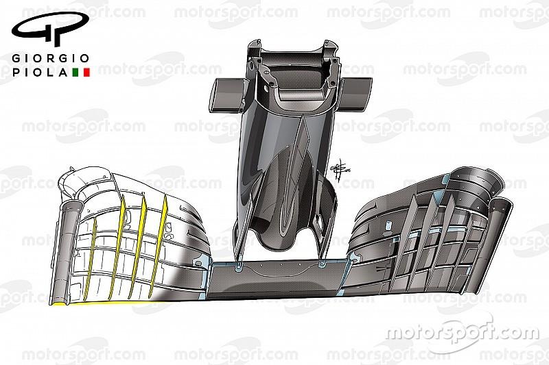 Відеоаналіз: процес розвитку переднього антикрила McLaren