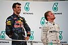 Formule 1 Ricciardo - La retraite de Rosberg?