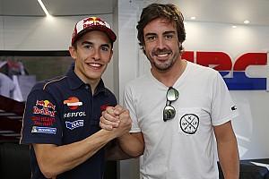 Формула 1 Самое интересное Алонсо испытал мотоцикл MotoGP