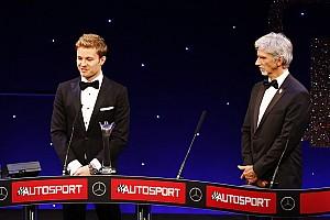 Reconocen a Rosberg y Hamilton en los premios Autosport