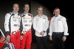 WRC Важливі новини Toyota не стурбована поганою формою Латвали