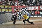 Motorrad Marc Marquez gewinnt Superprestigio in Barcelona