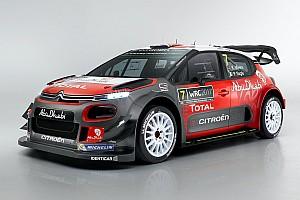 WRC Nieuws Citroën onthult de C3 WRC voor 2017
