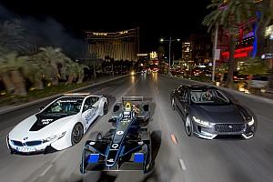 Formula E Curiosità Video, una Formula E in notturna sulla Strip di Las Vegas!