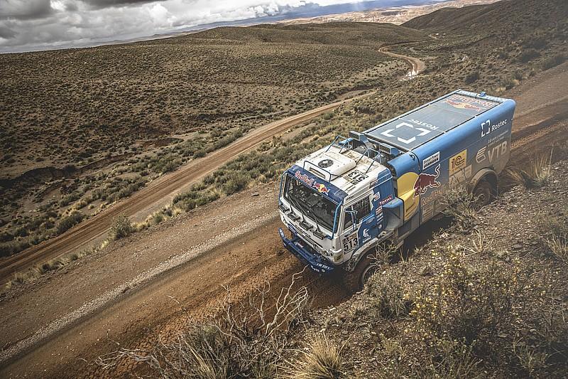 Dakar 2017: De Rooy ziet Sotnikov naderen