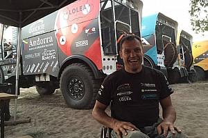 Dakar Entrevista Llovera logró su mejor resultado en el Dakar