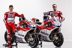 MotoGP Важливі новини Ducati представила ліврею мотоциклів MotoGP 2017 року
