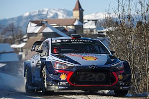 WRC Отчет о секции Невилль сохранил лидерство в Ралли Монте-Карло