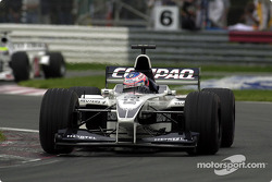 Jenson Button and Ricardo Zonta, still battling