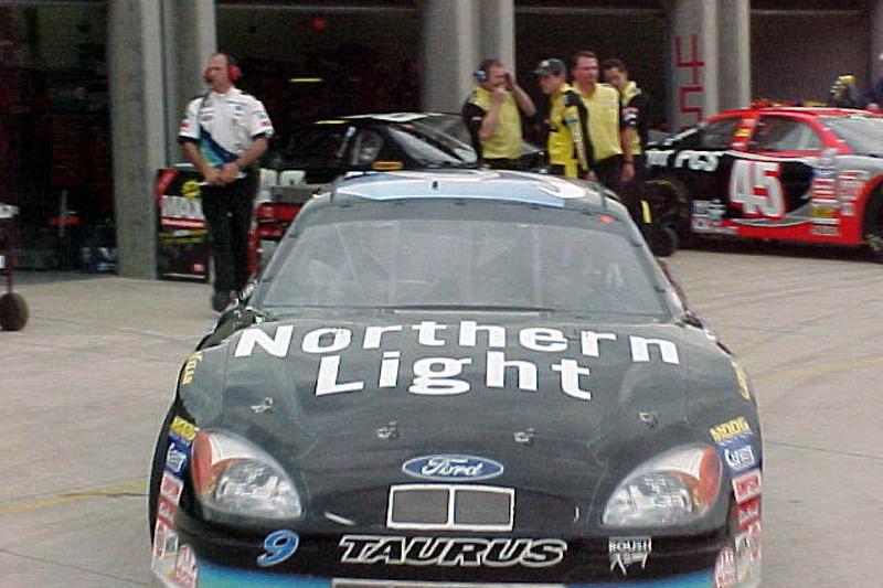 Jeff Burton Northen Light car