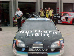 Jeff Burton Northen Light car