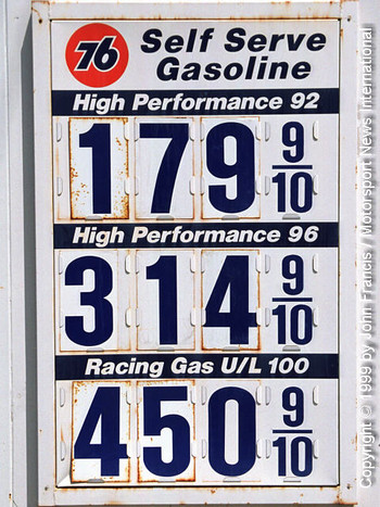 California gas prices
