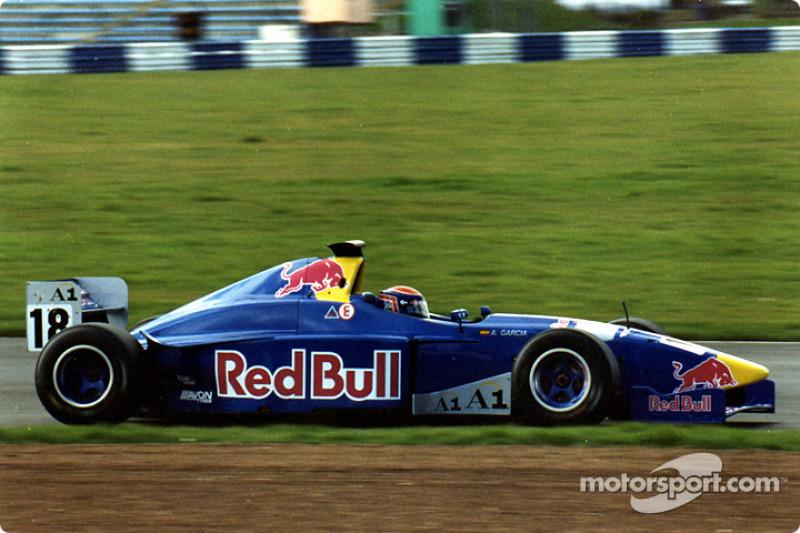 Antonio Garcia, Red Bull Junior Team