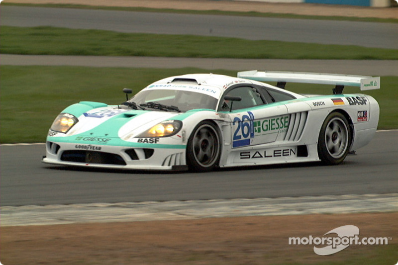 Konrad Saleen exiting Red Gate corner