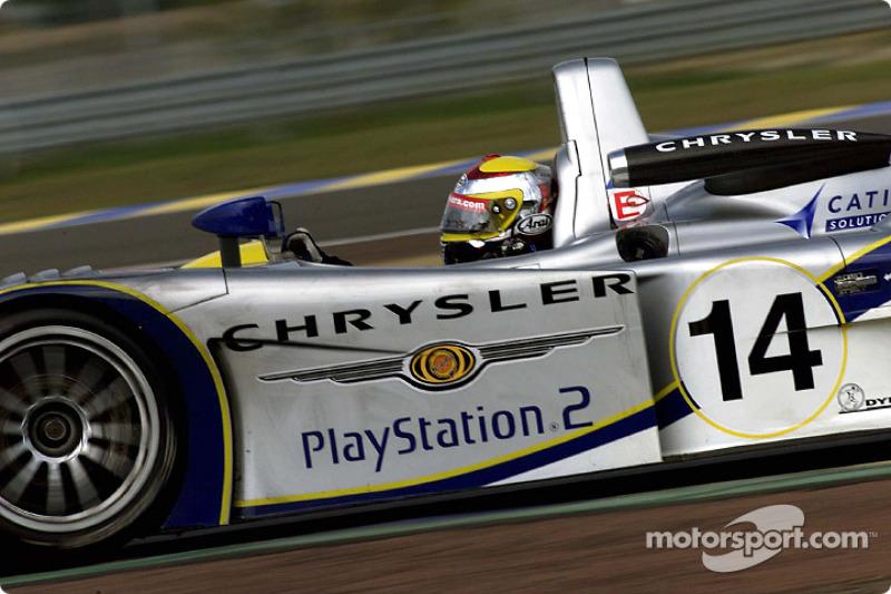 Seiji Ara in the Chrysler LMP