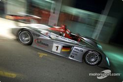 Tom Kristensen in the Infineon Audi R8 #1