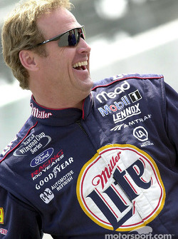 Race winner Rusty Wallace
