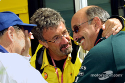 Eddie Jordan and Bobby Rahal having fun