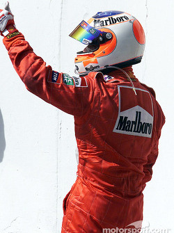 A third place for Rubens Barrichello