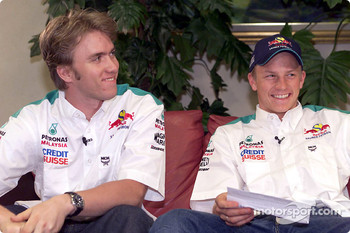 Interview with Nick Heidfeld and Kimi Raikkonen