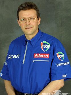 Technical director Henri Durand