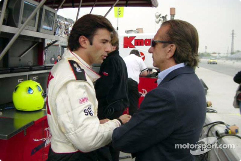 Christian Fittipaldi and uncle Emerson