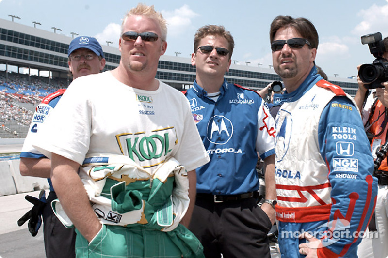 Paul Tracy and Michael Andretti