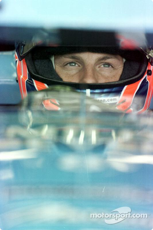 Before the race: Jenson Button