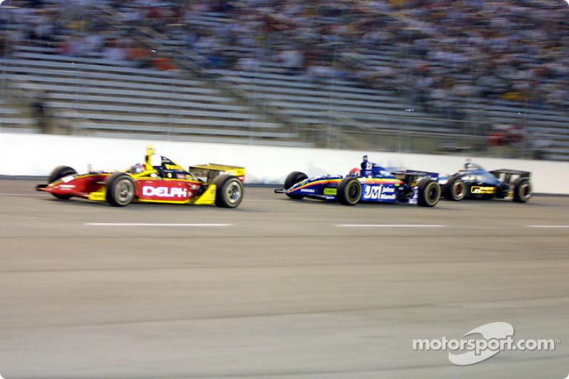Scott Sharp, Greg Ray and Eddie Cheever