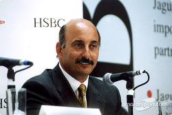Jaguar Racing and HSBC renew sponsorship: Bobby Rahal