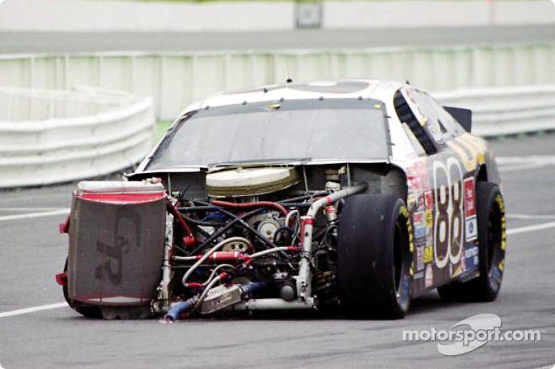 Dale Jarrett in trouble