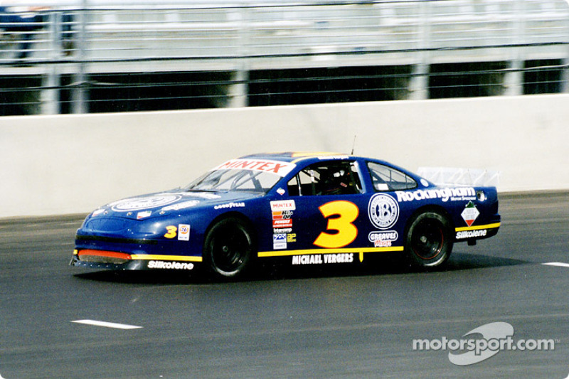 Michael Vergers in the Rockingham Ford
