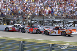 Kevin Harvick, Terry Labonte and Tony Stewart