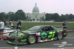 SCCA Trans Am Camaro in front of the Capitol