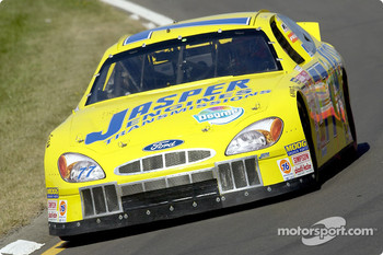 Road Race specialist Boris Said brought the Jasper Engines Ford to the checkered flag in eighth place