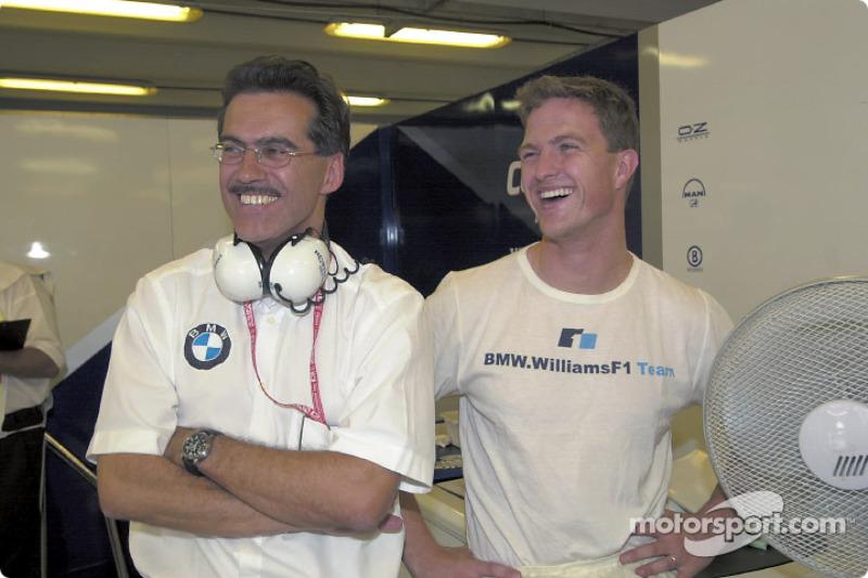 Mario Theissen and Ralf Schumacher
