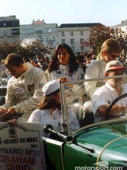 David Murry, Milka Duno and John Graham