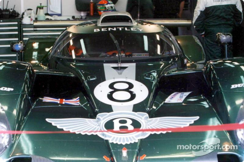 Team Bentley garage