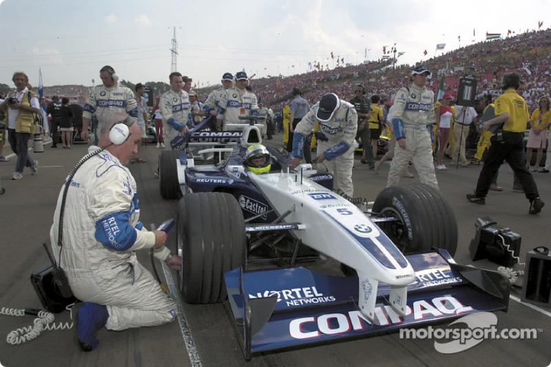 Ralf Schumacher on the grid