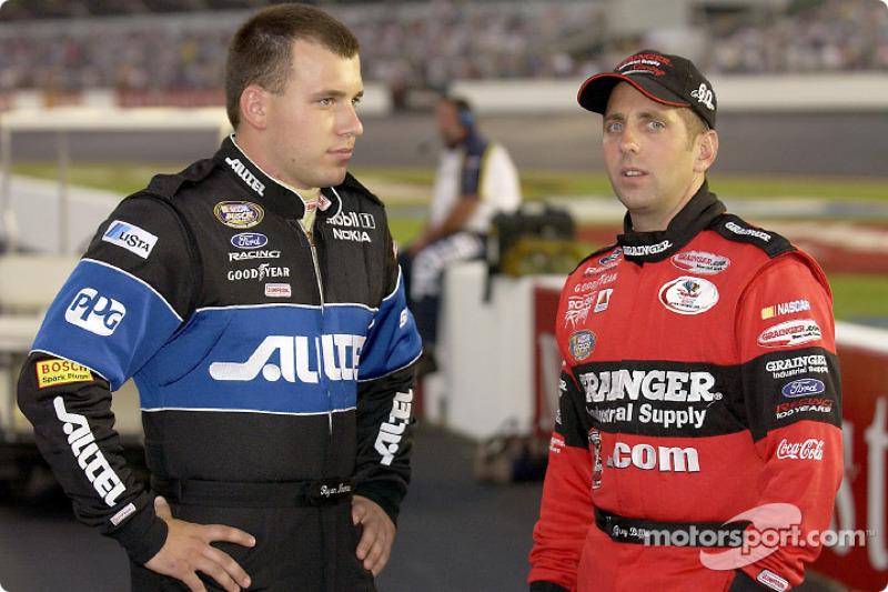 Ryan Newman and Greg Biffle