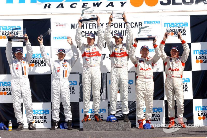 LMP 900 podium