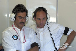 Mario Theissen and Gerhard Berger