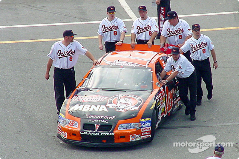 Joe Gibbs Racing or the Baltimore Orioles?