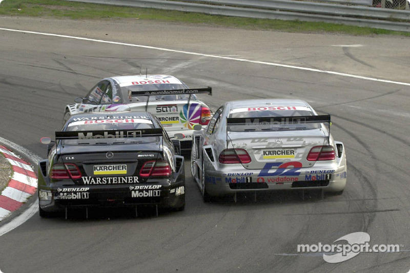 Close race action: Uwe Alzen and Bernd Schneider